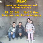 Abschiebung der Familie Tamoyan